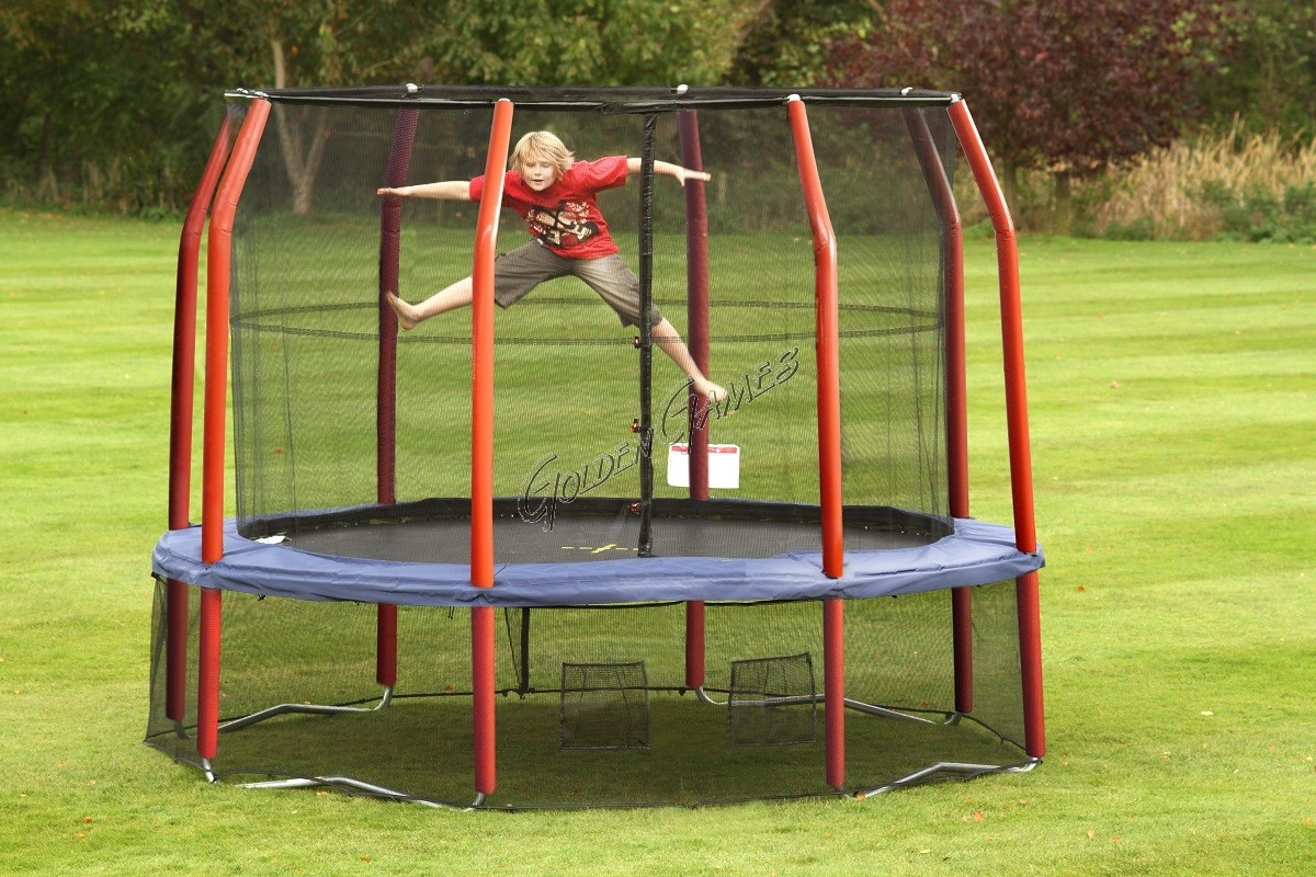 round trampoline diameter 360. Black Bedroom Furniture Sets. Home Design Ideas