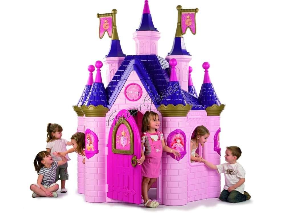 Casa per bambini castello incantato - Casa gonfiabile per bambini ...
