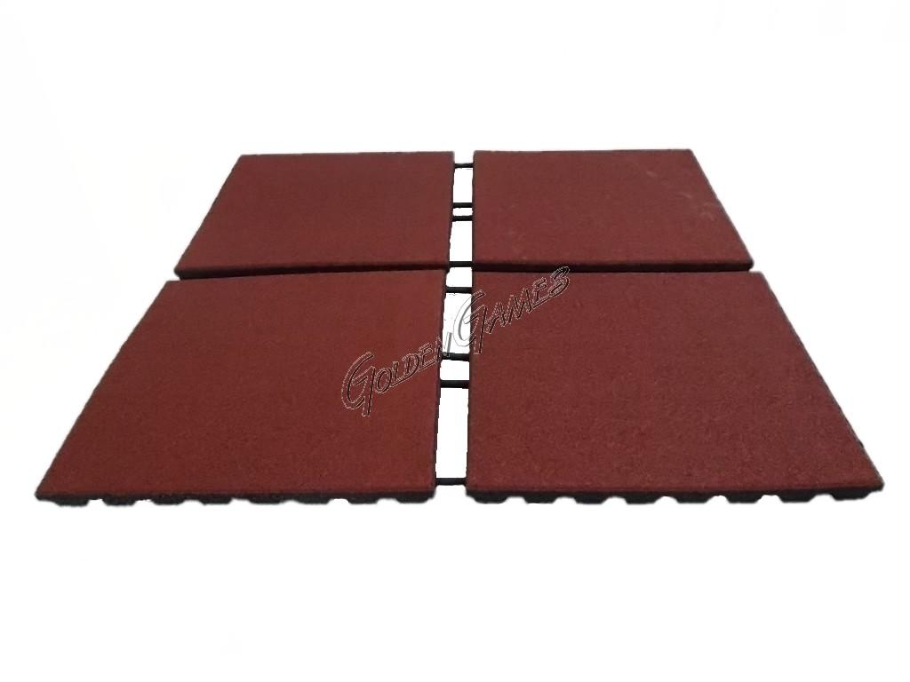 Pavimentazione antitrauma per esterni spessore cm