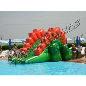 DRAGON SLIDE POOL