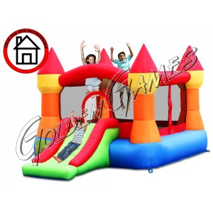 HAPPY FORTRESS BOUNCER & SLIDE