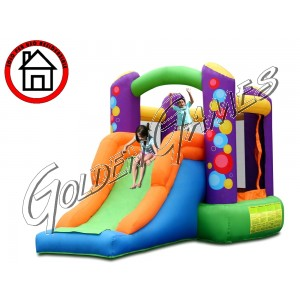 HAPPY TOY BALLOONS BOUNCER & SLIDE