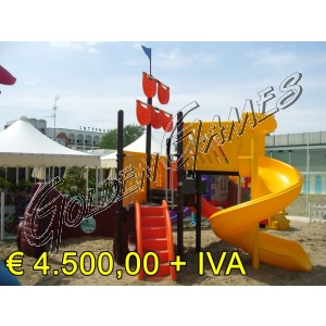 Offerte gonfiabili usati offerte playground usati tappeti for Playground usati