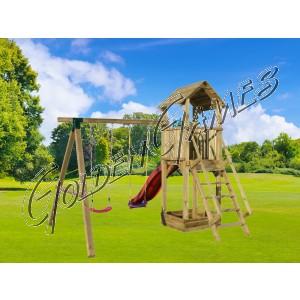 PLAY TOWER 005 - PALI MAGGIORATI CM 9 x 9
