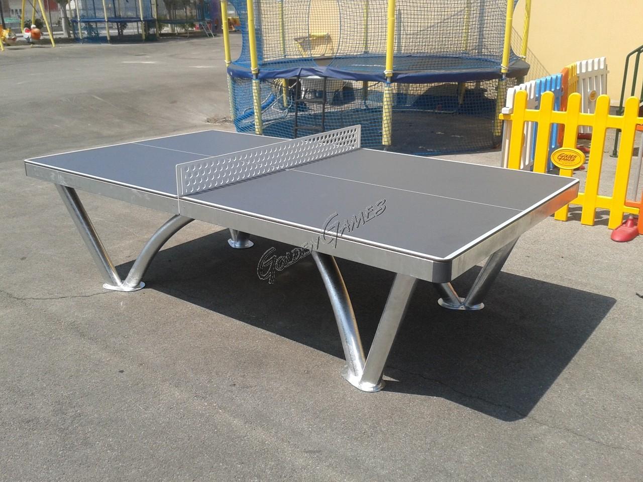 Tavolo ping pong da esterno park per aree pubbliche - Tavolo da ping pong decathlon prezzi ...