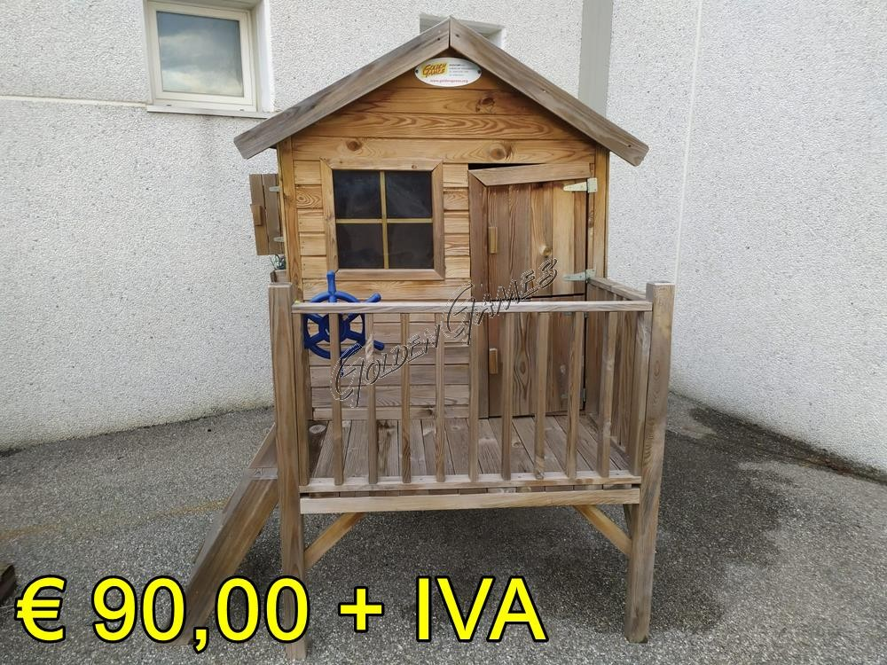 Casetta in legno da giardino per bambini for Casetta giardino bambini usata