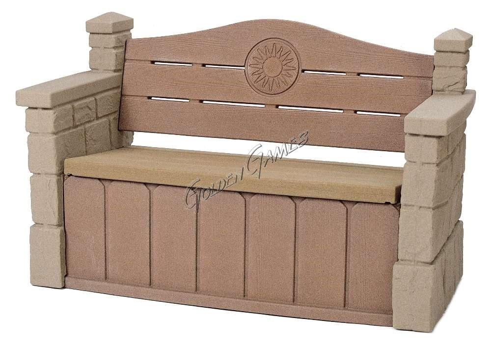 panchina portaoggetti. Black Bedroom Furniture Sets. Home Design Ideas