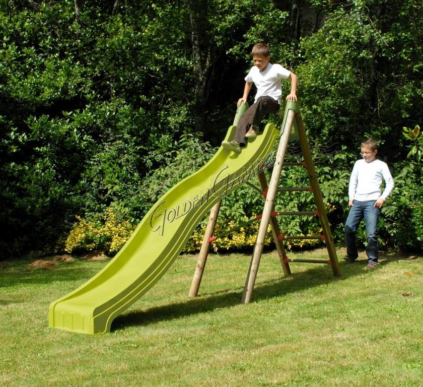 Scivolo legno garden for Scivolo da giardino usato