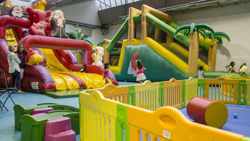 aree gioco al coperto e family center