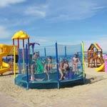 area giochi spiaggia